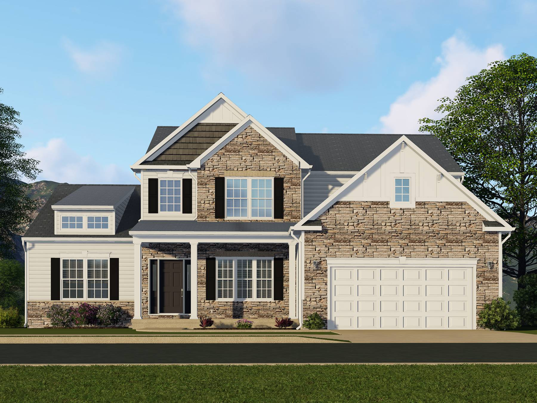 Kimball Hill Homes Madison Floor Plan